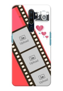 Oppo A9 2020 custom phone covers: 3 Image Holder with Film Reel