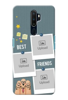 Oppo A9 2020 Mobile Cases: Sticky Frames and Friendship Design
