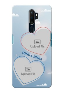 Oppo A9 2020 Phone Cases: Blue Color Couple Design