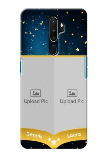 Oppo A9 2020 Mobile Covers Online: Galaxy Stars Backdrop Design