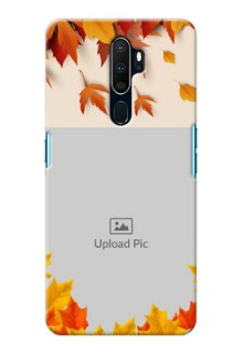 Oppo A9 2020 Mobile Phone Cases: Autumn Maple Leaves Design