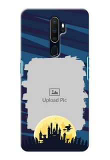 Oppo A9 2020 Back Covers: Halloween Witch Design
