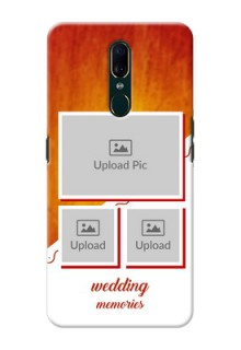 Oppo A9 Personalised Phone Cases: Wedding Memories Design