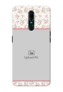 Oppo A9 Back Covers: Premium Floral Design