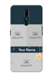 Oppo A9 Mobile Back Covers Online: Hanging Stars Design