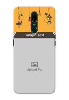 Oppo A9 custom back covers with Family Picture and Icons