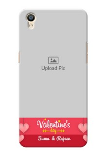 Oppo F1 Plus valentines day couple Design