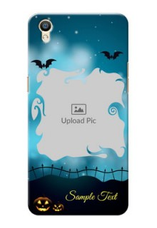 Oppo F1 Plus halloween design with designer frame Design