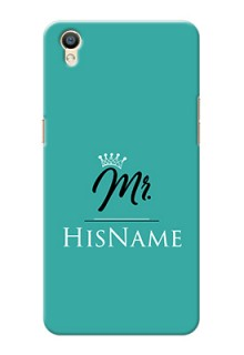 Oppo F1 Plus Custom Phone Case Mr with Name