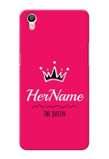 Oppo F1 Plus Queen Phone Case with Name