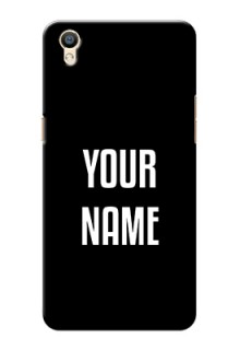 Oppo F1 Plus Your Name on Phone Case