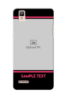Oppo F1 Photo With Text Mobile Case Design