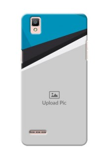 Oppo F1 Simple Pattern Mobile Cover Upload Design