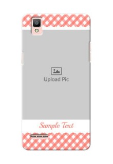 Oppo F1 Pink Pattern Mobile Case Design