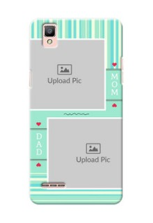 Oppo F1 mom and dad image holder Design