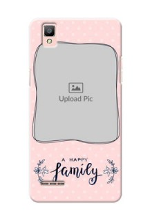 Oppo F1 A happy family with polka dots Design