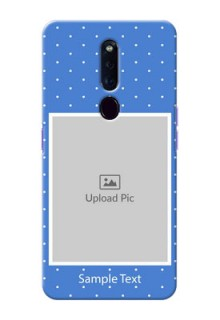 Oppo F11 Pro Personalised Phone Cases: polka dots design