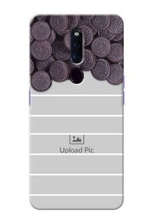 Oppo F11 Pro Custom Mobile Covers with Oreo Biscuit Design