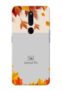 Oppo F11 Pro Mobile Phone Cases: Autumn Maple Leaves Design