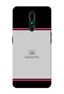 Oppo F11 Mobile Covers With Add Text Design