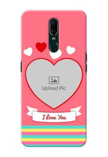 Oppo F11 Personalised mobile covers: Love Doodle Design