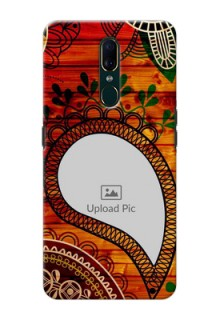 Oppo F11 custom mobile cases: Abstract Colorful Design