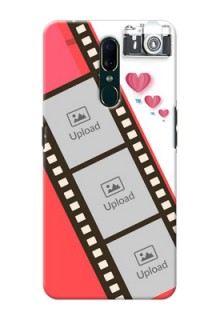 Oppo F11 custom phone covers: 3 Image Holder with Film Reel
