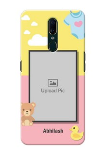 Oppo F11 Back Covers: Kids 2 Color Design
