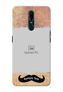 Oppo F11 Mobile Back Covers Online with Texture Design