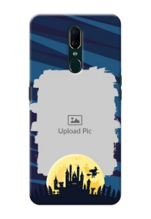 Oppo F11 Back Covers: Halloween Witch Design
