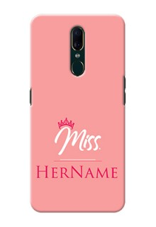 Oppo F11 Custom Phone Case Mrs with Name