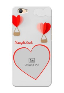 Oppo F1s Love Abstract Mobile Case Design