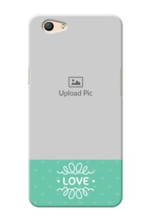 Oppo F1s Lovers Picture Upload Mobile Cover Design