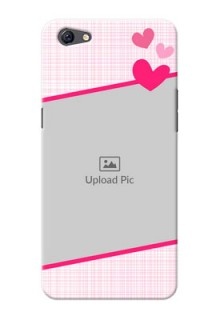 Oppo F3 Plus Pink Design With Pattern Mobile Cover Design