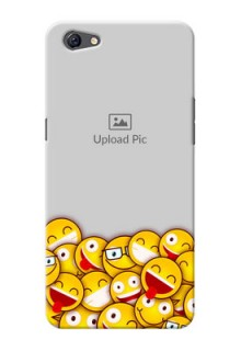 Oppo F3 Plus smileys pattern Design