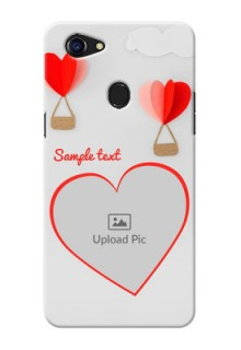 Oppo F5 Love Abstract Mobile Case Design