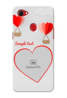 Oppo F7 Love Abstract Mobile Case Design