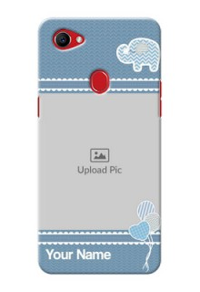 Oppo F7 kids design icons with  simple pattern Design
