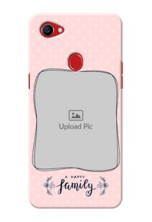 Oppo F7 A happy family with polka dots Design