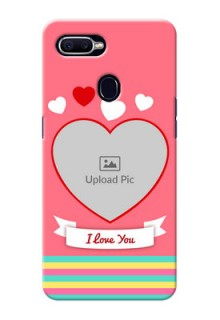 Oppo F9 I Love You Mobile Cover Design