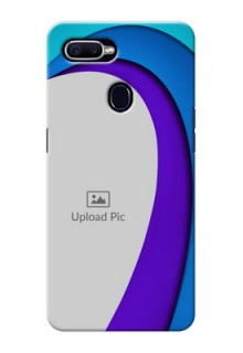 Oppo F9 Simple Pattern Mobile Case Design