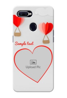 Oppo F9 Love Abstract Mobile Case Design