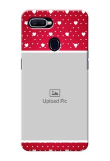 Oppo F9 Beautiful Hearts Mobile Case Design