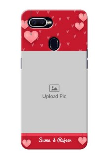 Oppo F9 valentines day couple Design