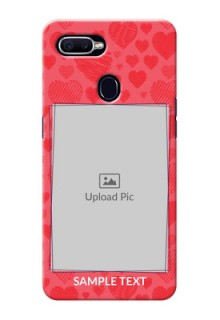 Oppo F9 multiple hearts symbols Design