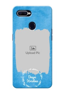 Oppo F9 watercolour with vintage floral Design