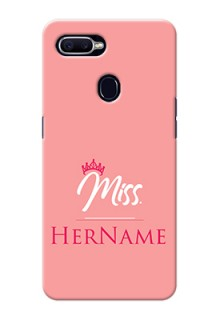 Oppo F9 Custom Phone Case Mrs with Name