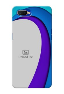 Oppo K1 custom back covers: Simple Pattern Design