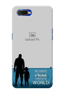 Oppo K1 Personalized Mobile Covers: best dad design