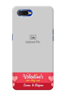 Oppo K1 Mobile Back Covers: Valentines Day Design